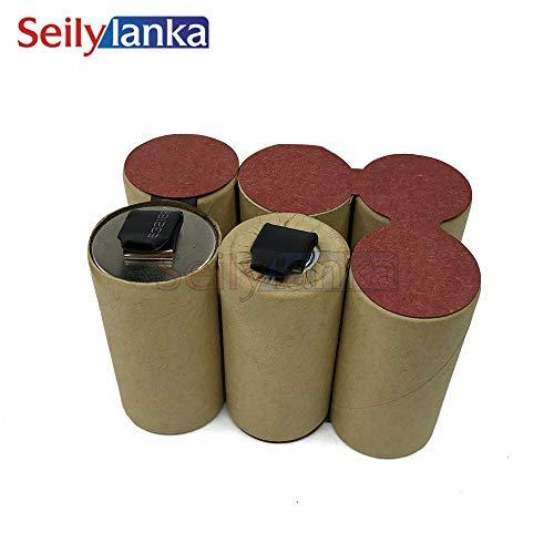 Seilylanka 3000mAh per Black Decker 7,2 V Ni MH Batteria pacco CD aspirapolvere Dustbuster Extreme per l'auto-installazione