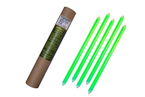 Cyalume - Paquete de 20 tubos luminosos SnapLight Impact, 40 cm, 15 pu