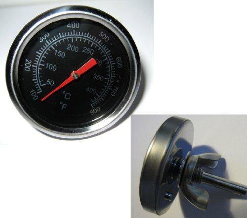 Dr. Richter Grillthermometer - Thermometer - 50 bis 420 °C - Flügelschraube - Grill