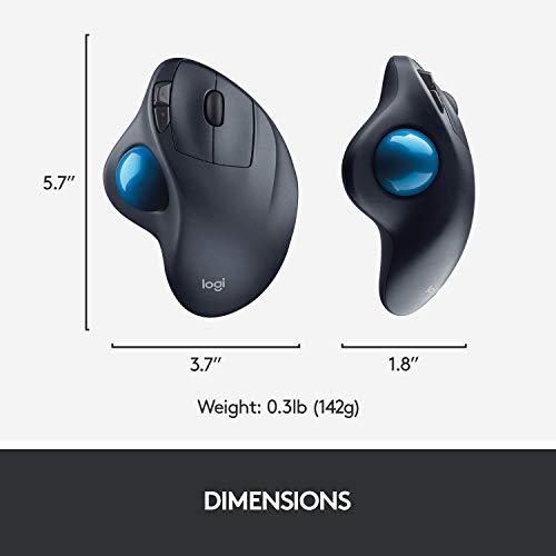 Souris sans fil Logitech M570 Trackball - 6