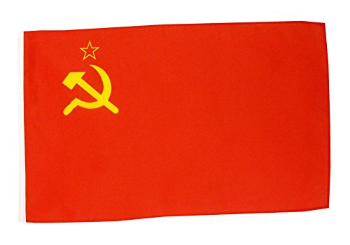 Flagge / Fahne UDSSR Sowjetunion + gratis Sticker, Flaggenfritze®