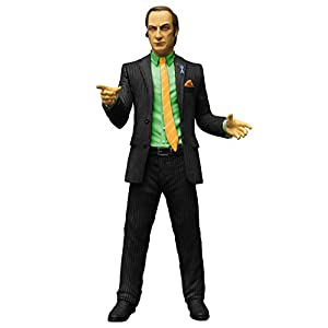 Mezco Toys Breaking Bad Figura Saul Goodman Green Shirt Previews Exclusive 15 cm 10