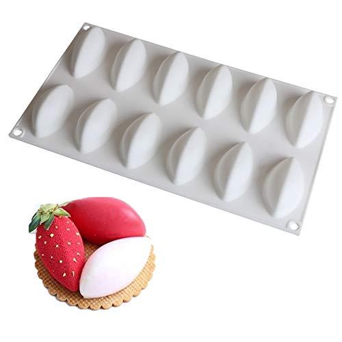 3D Silikon Backformen für Kuchen Dessert Silikonform Schokoladenform Kuchendekorationsform Faltbar und leicht zu reinigen, geeignet für DIY-Dessertkuchen in der Wohnküche, mit Antihaftbeschichtung
