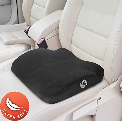 Samsonite SA5453 Black Soft Seat Cushion with 100% Pure Memory Foam