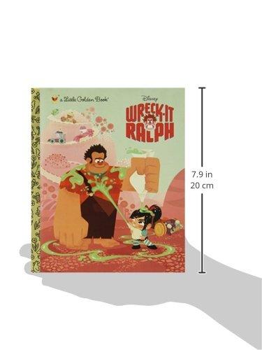 Wreck-It Ralph Little Golden Book (Disney Wreck-it Ralph)