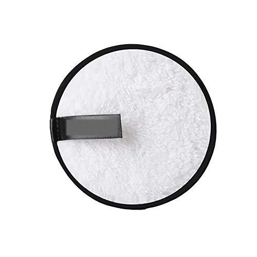 Maquillage Microfibre Remover Pads Réutilisables Doux Visage Nettoyage Du Visage Puffs Serviettes Taille Voyage-sided Double Magic Cleansing Puff (bla