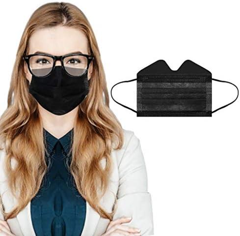 50 Stück Einmal Mundschutz Multifunktionstuch Erwachsene 3 Lagig Tragen Sie Eine Brille Um Nebel Zu Vermeiden Atmungsaktiv Mund Und Nasenschutz Bedeckung Multifunktionstuch Halstuch Bekleidung
