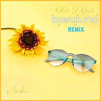 What U Want (Bjerglund Remix)