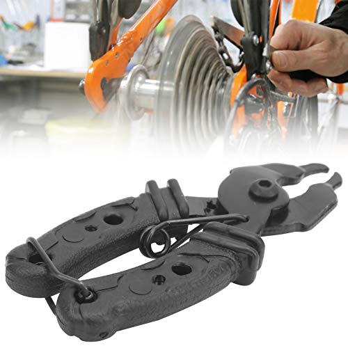 SHYEKYO Abrazadera de Cadena de Bicicleta, alicates de eslabones de Bicicleta fácil de almacenar para reparadores de Bicicletas para la extracción rápida de Cadenas de conexión