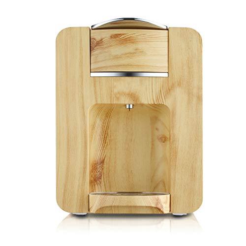 Coffee Maker Machine Capsule Espresso Maker Fully Automatic High Pressure Drink Tea Machine Wood Grain Shell