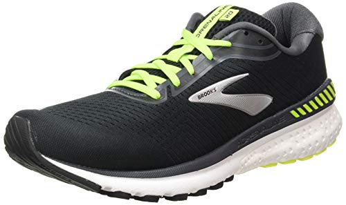 Brooks Adrenaline GTS 20, Scarpe da Corsa Uomo, Black/Nightlife/White, 45.5 EU