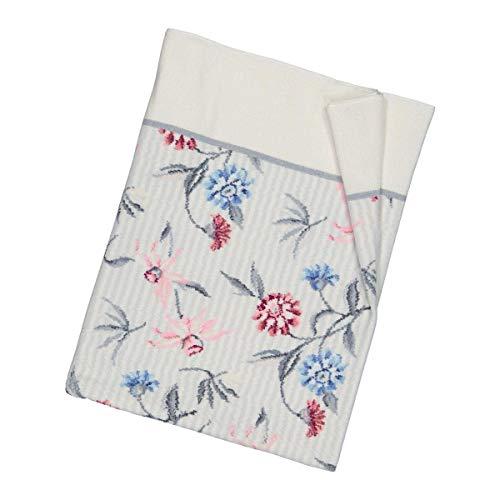 Feiler Handtücher Chelsea weiß-Platin Handtuch 50x100 cm