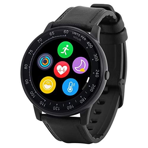 Eastdall Pulsera inteligente Reloj deportivo inteligente a prueba de agua Rastreador de actividad Reloj inteligente de fitness para hombres Mujeres reloj inteligente