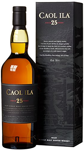 Caol Ila 25 Years Old 2010 Limited Release mit Geschenkverpackung  Whisky (1 x 0.7 l)