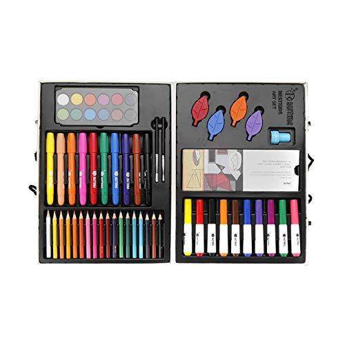 Juego de lápices de colores para niños, juego de lápices de acuarela, lápices de colores, 69 piezas para profesionales artistas dibujando principiantes y niños