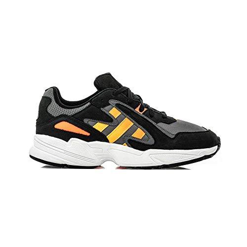 Adidas Originals Yung-96 Hombre Zapatillas Deportivas Negro/Gris/Naranja/Blanco 42 EUR