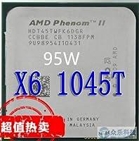 Phenom II X6 1045T x6 1045T CPU Processor Six-Core 2.7Ghz/ 6M /95W Socket AM3 AM2+ 938 pin working 100%