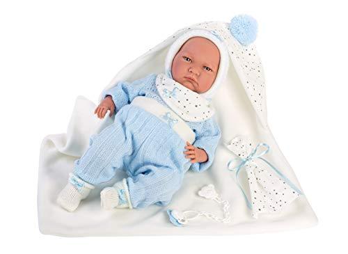 Symag Llorens 74091 Lalo - Muñeca de bebé española (42 cm)