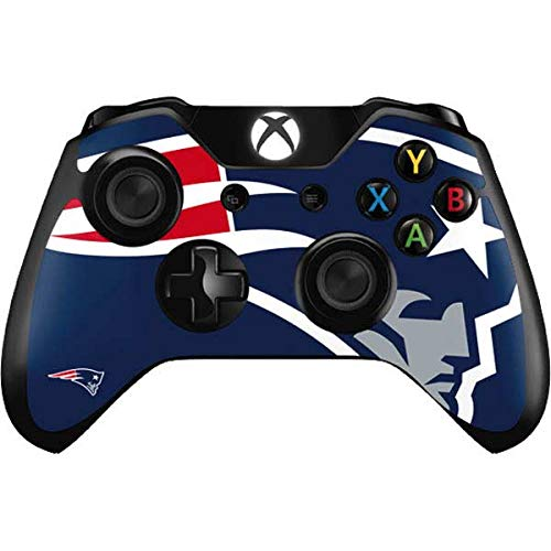 Skinit Decal Gaming Skin for Xbox One Controller - Officially Licensed NFL New England Patriots Large Logo Design