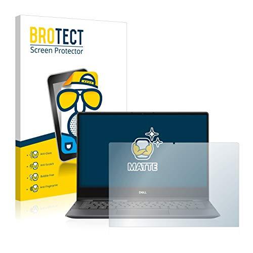 BROTECT Entspiegelungs-Schutzfolie kompatibel mit Dell Inspiron 13 7391 2-in-1 Bildschirmschutz-Folie Matt, Anti-Reflex, Anti-Fingerprint