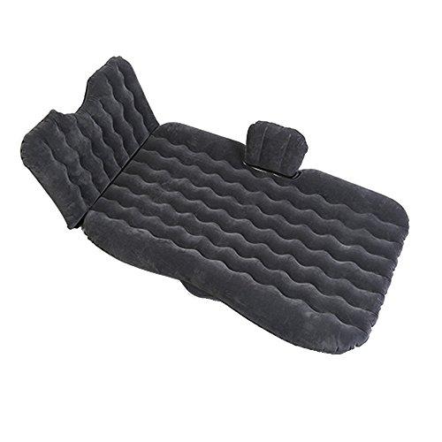 Y&G GY Air Bed-Car Air Bed con Protezione per la Testa Multifunzione all'aperto Campeggio Pesca Materasso Gonfiabile Pesca Campeggio all'aperto /+-+/ (Colore : Nero)