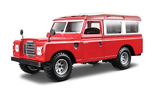 Bburago - Land Rover Series II, color rojo (18-22063) , color/modelo surtido