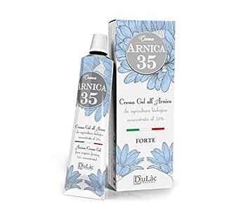 Dulàc - Crema Árnica - Concentrada al 35% - Ideal para masaje y actividad deportiva - 50 ml - 100% Made in Italy - Arnica 35