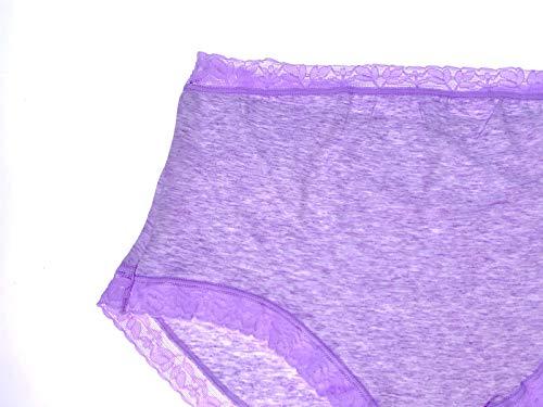 Slip Gestante Confezione da 6 Slip Taglie 4-10 Mesi e 7-10 Mesi Gravidanza Colori Assortiti WS8 United Multiservices Mutande per Gravidanza