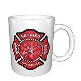 Tazas de bomberos jubilados tazas de café tazas divertidas