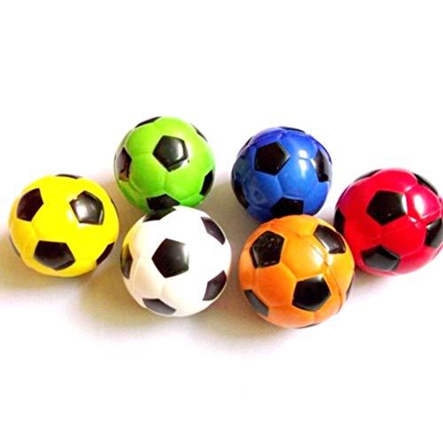 AOWA Handtraining Weich Elastisch Fußball Stressball Antistressball, 6 Stück