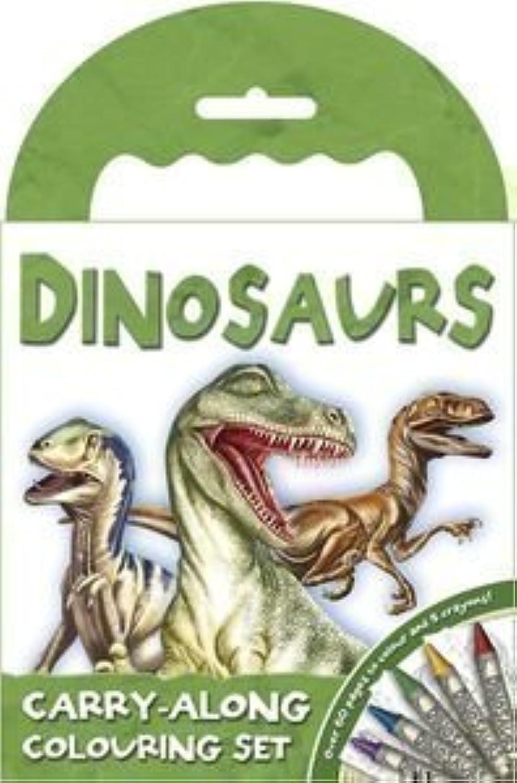 Dinosaurus T-Rex zum Mitnehmen 60 Seiten Malbuch und Wachsmalstifte Set B00ELBTEEM  | Hohe Sicherheit