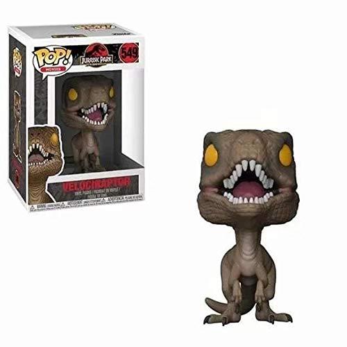 cheaaff Funko-Pop Jurassic World Velociraptor Dinosaurio Figura Juguetes para ninos Regalo de cumpleanos-Caja