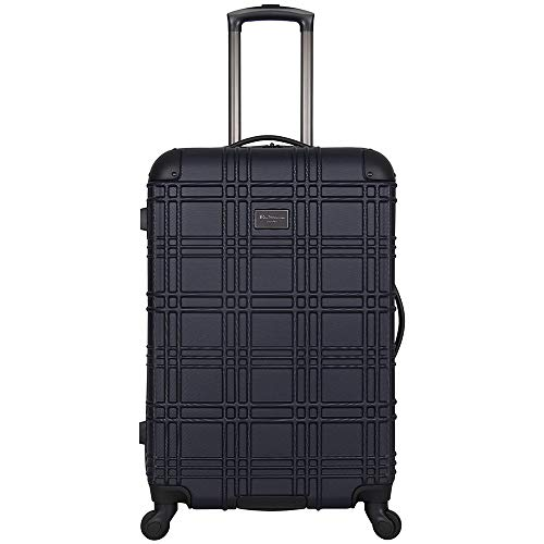 Ben Sherman Nottingham 24' Embossed PAP 4-Wheel Upright Luggage in Navy