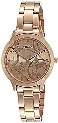 Timex Fashion Analog Brown Dial Women's Watch - TW000T610,Timex,TW000T610