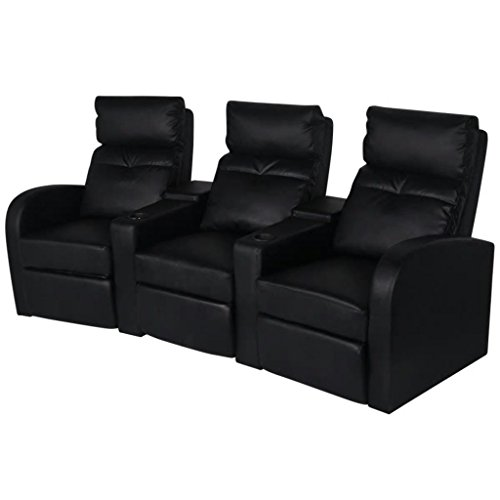vidaXL Fernsehsessel Ruhesessel Kinosessel Heimkino Relaxsessel Cinema Sessel