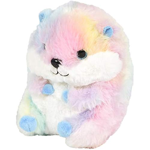 ArtCreativity Belly Buddy Hamster, 7 Inch Plush Stuffed Hamster, Super Soft and Cuddly Toy, Cute Nursery Décor, Best Gift for Baby Shower, Boys and Girls - Colors May Vary