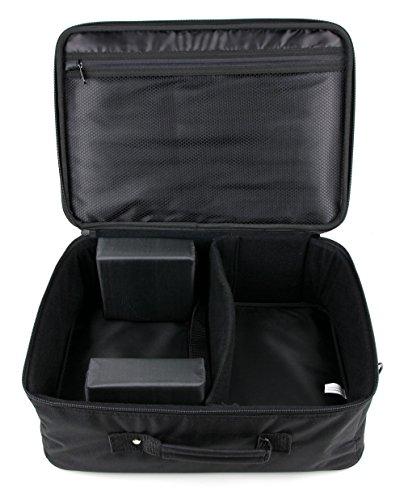 DURAGADGET Gepolsterte Projektortasche – kompatibel mit Epson EB-X41 XGA 3600 | EB-S41 | EB-U05 | EH-TW7300 | EH-TW5650 | EH-TW650 | EB-S41 EB-W05 | EB-U04 | EH-TW570 & & EG-TW56 50