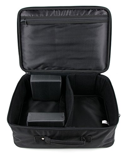 DURAGADGET Padded Protective Strong Tough Travel Carry Case for Ragu RG 01 Resolution Support 1080P Video Projector