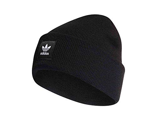 adidas Adicolor Cuff Knit, Backpacks Uomo, Black, OSFM