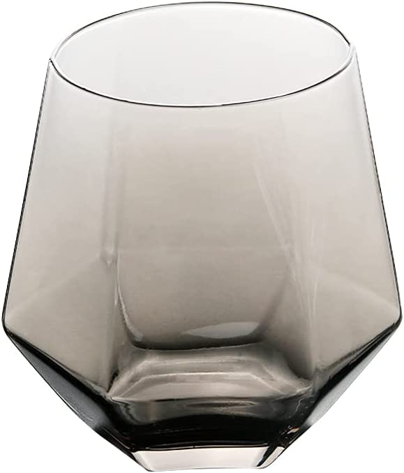 Austin Mall Geometry Whiskey Glass Diamond Cup Golden OFFicial store Transpar Crystal