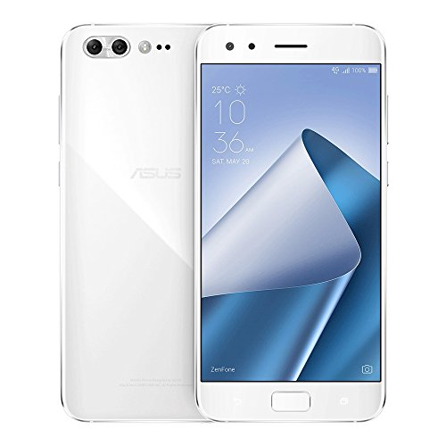 Asus ZenFone 4 Pro (ZS551KL) 6GB/ 64GB 5.5-Inches 4G LTE Dual Sim Factory Unlocked (Moonlight White)