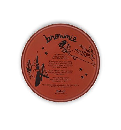 Tefal J5069702 Moule à Manqué INICIA CITIZ Recette Brownie 26 cm