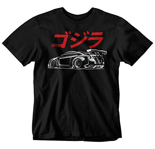 GTR R35 Japan Style T-Shirt (Large) Black