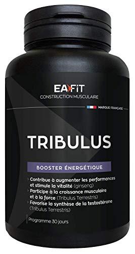 EAFIT Tribulus - 90 Comprimés - Booster énergétique - Certifié Anti-Dopage