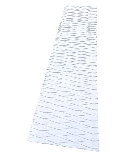 Foammaker Universal (34in x 9in) DIY Traction Non-Slip Grip Mat Pad, Versatile and Trimmable Sheet of EVA for SUP, Boat Decks, Kayaks, Surfboards, Standup Paddle Boards, Skimboards and More (White)