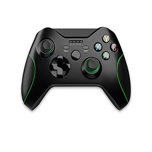 Controlador inalámbrico para Xbox One con receptor, controlador de juegos inalámbrico de 2.4GHZ compatible con Xbox One S / X / Elite PS3 Windows 7/8/10 Android Phone, con vibración dual incorporada
