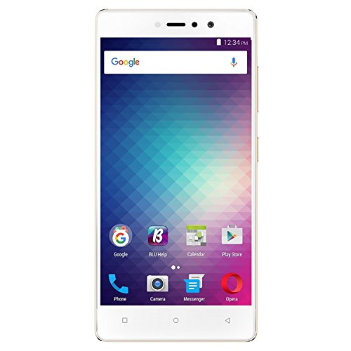 BLU Vivo 5R V0090UU 32GB Unlocked GSM (AT&T + T-Mobile) 4G LTE Octa-Core Android Phone w  13MP Camera - Gold