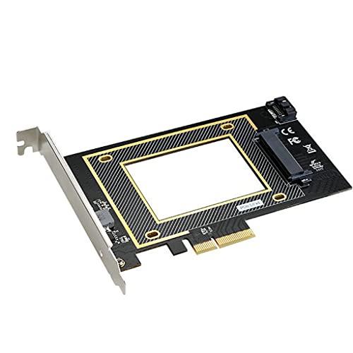 MagiDeal La Tarjeta Adaptadora U.2 SSD a PCI Express 3.0 X16 Admite WIN7 / 8/10/32 / / Linux