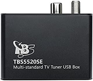 TBS 5520Se (Second Edition) Multi-Standard Tv Tuner USB Box Dvb-S2X/S2/S/T2/T/C2/C/Isdb-T (Satellite, Terrestrial, Cable)