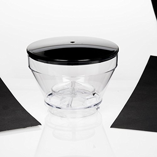 Secura automático cónica Burr molinillo de café cgb-018Bean Container w/tapa